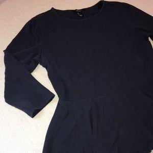 Forever 21 ruffle edge shirt